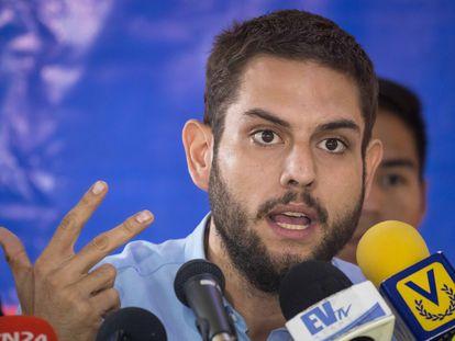 El opositor venezolano Juan Requesens, en una imagen de 2018.