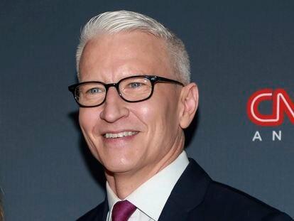 Anderson Cooper, presentador estrella de la CNN.