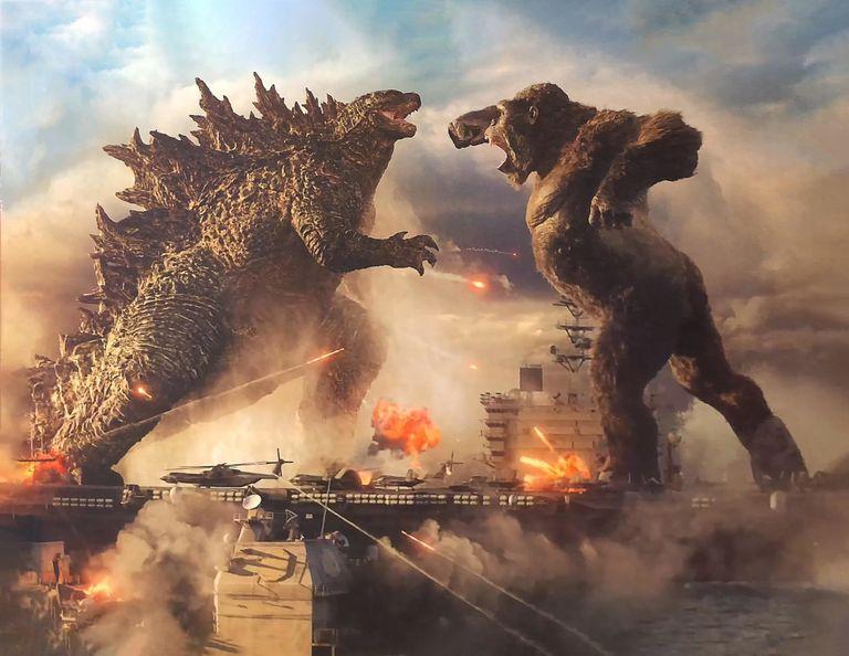 Una imagen de 'Godzilla vs. Kong', que se estrena en 2021.