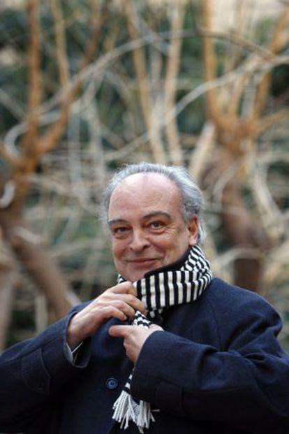 El escritor Enrique Vila-Matas, en Barcelona.