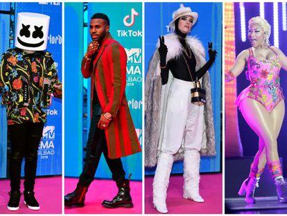 Los 13 'looks' más extravagantes de los premios MTV EMA