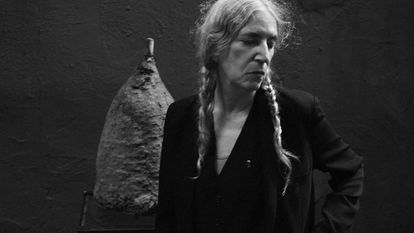 La cantante y poeta Patti Smith, fotografiada este año por Steven Sebring.