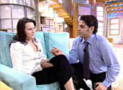 La pareja, en el programa <i>El diario de Patricia</i> del pasado miércoles.