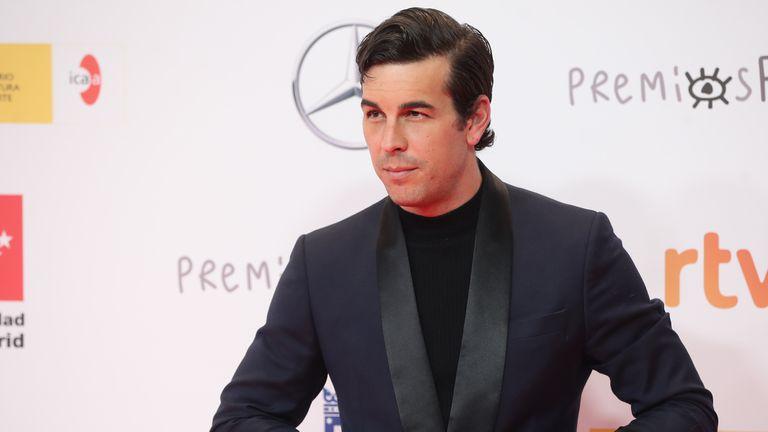 El actor Mario Casas, a su llegada a los premios José María Forqué celebrados el pasado 16 de enero en Madrid.