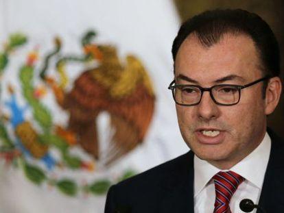 El ministro de Economía mexicano Luis Videgaray