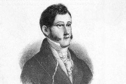 Un retrato del general Agustín de Iturbide (1783-1824).
