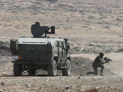 Maniobras del Ejército en Canarias.