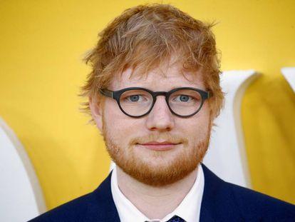 Ed Sheeran, en Londres (el Reino Unido), el pasado mes de junio.