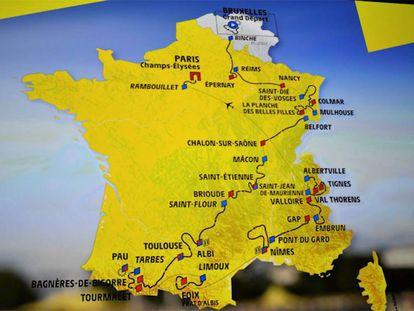 Recorrido del Tour de Francia de 2019. En vídeo, declaraciones del director del Tour y de su último ganador.