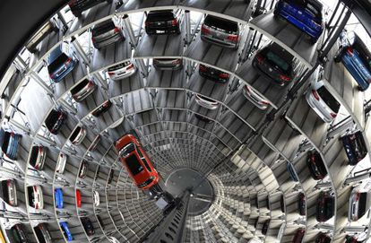 Planta de ensamblaje de Volkswagen en Wolfsburgo (Alemania)