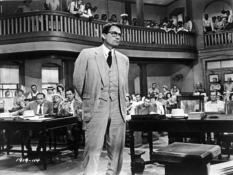 El abogado Atticus Finch en 'Matar a un ruiseñor'