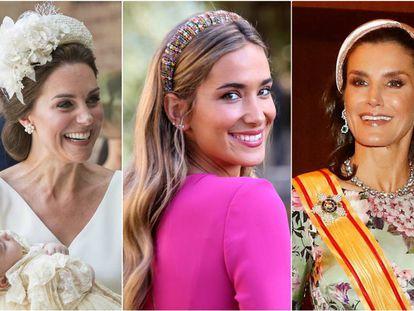 Kate Middleton, María Pombo y la reina Letizia.