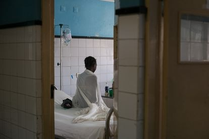 Departamento de traumatología del Hospital Central de Beira, el 9 de marzo de 2020.