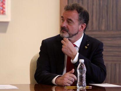 Alfred Bosch, exconsejero de Acción Exterior, en un acto en México en junio de 2019.