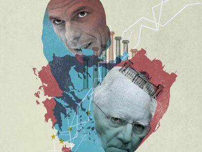 Las cuchilladas financieras entre Wolfgang Schäuble y Yanis Varoufakis