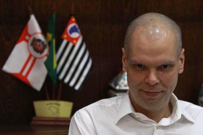 El alcalde de Sao Paulo, Bruno Covas.