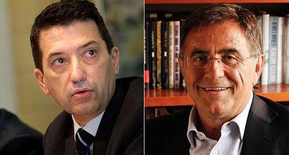 Los economistas Rafael Doménech y Javier Andrés.