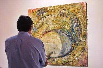 <i>La suerte de varas,</i> obra de Miquel Barceló que se presenta en la exposición del artista en la Lonja de Palma.