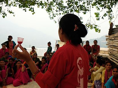 Un taller de Impacto Social de la empresa Ruby Cup.
