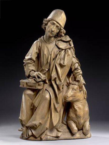 'Evangelista' (1490-1492), de Tilman Riemenschneider.