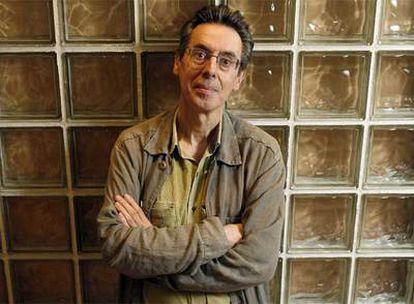 Emilio Araúxo, na sé madrileña do Instituto Cervantes.