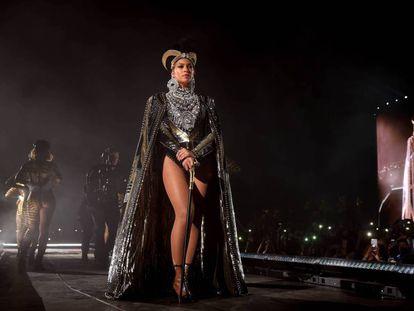 Beyoncé, durante su actuación del abril pasado en Coachella