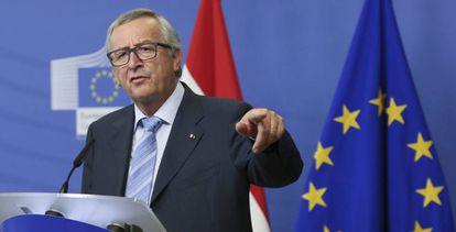El presidente de la Comisión Europea, Jean-Claude Juncker.