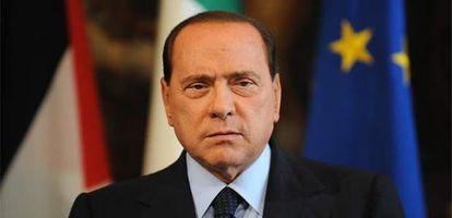 El primer ministro italiano, Silvio Berlusconi.