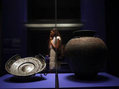 Exposición Lujo. De los asirios a Alejandro Magno, en el Caixaforum.
