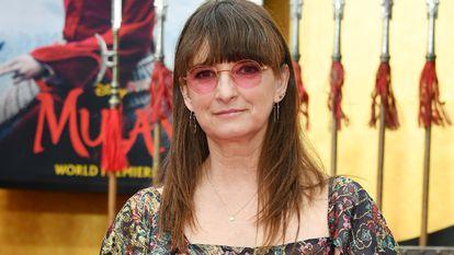 Bina Daigeler, en el preestreno de 'Mulan' el pasado marzo.
