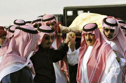 El sucesor al trono de Arabia Saudí, Salman bin Abdelaziz al Saud, el pasado enero.