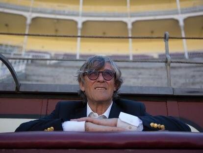 El empresario Simón Casas, en la plaza de Las Ventas.