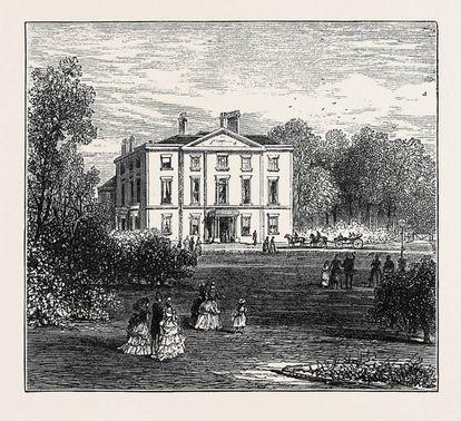 Newsham House, de ladrillo rojo, fue construida a finales del siglo XVIII por Thomas Molyneux, implicado en al menos 39 viajes de esclavos entre 1784 y 1799. Fue además la residencia del duque de Edimburgo durante su visita a Liverpool. |