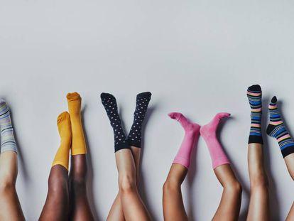 Los calcetines ya no son aburridos y se pueden combinar con todo