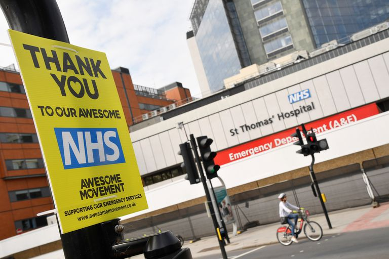 Hospital St. Thomas, en Londres.