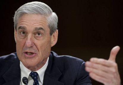 El fiscal especial para la trama rusa, Robert Mueller, en una foto el pasado 19 de junio.