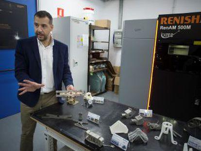 El CATEC reduce a la mitad el gasto en componentes de satélites y aviones al fabricarlos con impresoras 3D