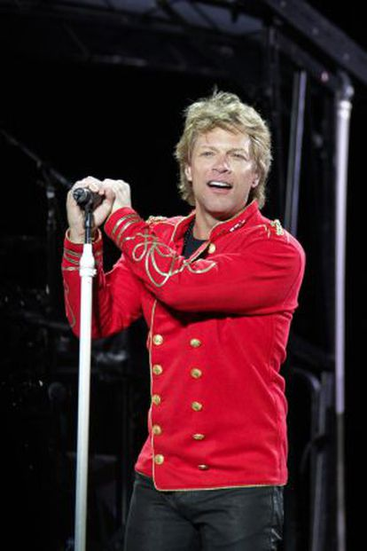 El cantante Jon Bon Jovi.