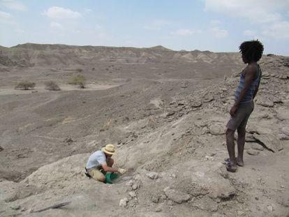 Excavaciones en la colina de Ledi-Geraru