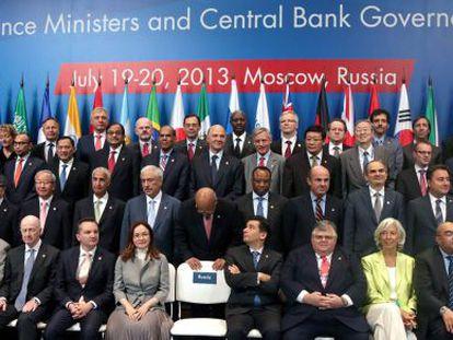 Foto de familia del G-20