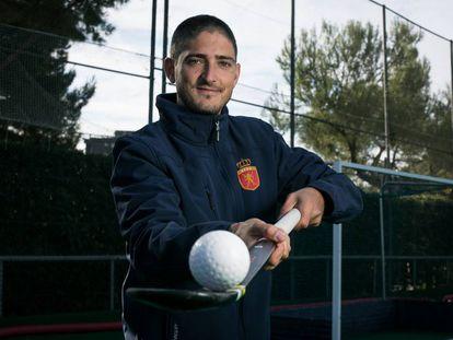 Xavi Lleonart, en su club, el Real Club de Polo.