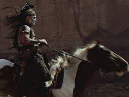 Fotograma del filme 'El Llanero Solitario'