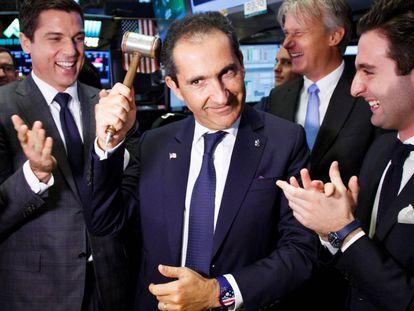 El empresario Patrick Drahi, en una imagen de junio de 2017 en la Bolsa de Nueva York.