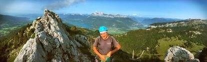 El montañista francés Rodolphe Popier