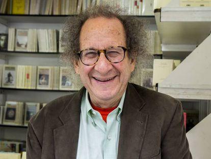 El analista Mike Shatzkin, hoy martes en la Feria del Libro de Madrid.