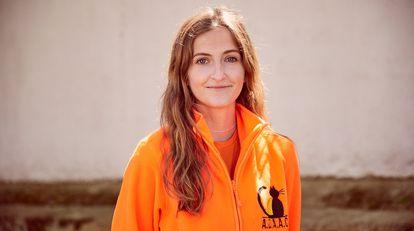 """""""Yo quería dedicar mi tiempo libre a los animales, los grandes desprotegidos. Y al final les estoy dedicando toda mi vida porque también estudio Veterinaria"""", cuenta Marina Cárcamo."""