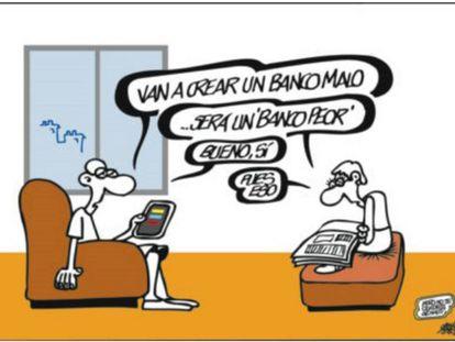El nacimiento del 'banco malo'