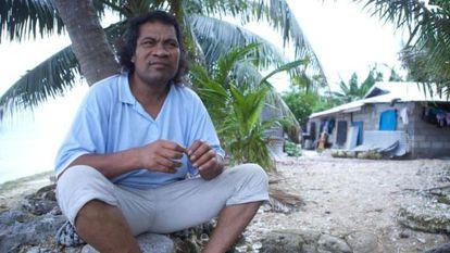 Ioane Teitiota, de Kiribati, pidió asilo en Nueva Zelanda.