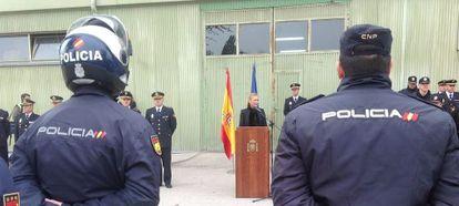Cifuentes presenta la Unidad de Protección y Reacción en la Casa de Campo.
