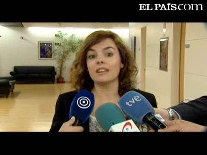 "Sáenz de Santamaría atribuye a Rubalcaba la frase de ""ETA mata pero no miente"""